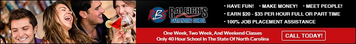 Best North Carolina Bartending School